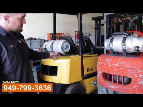 Forklift Service Shop - Видео онлайн