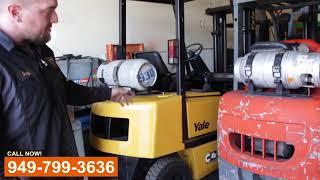 Forklift Service Shop