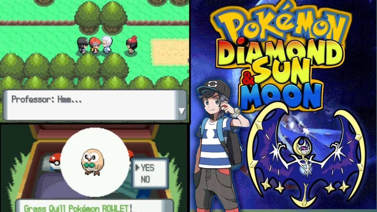 rom pokemon diamante inglese
