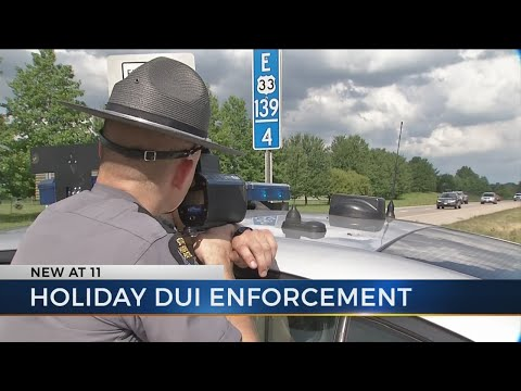 Ohio State Highway Patrol hits the road for holiday DUI enforcement