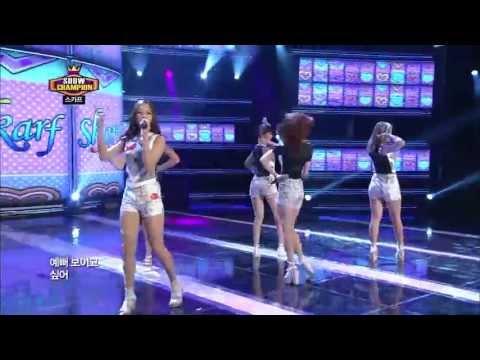SKARF - LOVE VIRUS,  스카프 - 러브 바이러스, Show champion 20130612