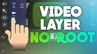 HOW TO GET VIDEO LAYER IN POWERDIRECTOR (WITHOUT ROOT) Ft.Android Geoid