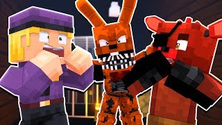 Jack o Bonnie Attacks! | Minecraft FNAF Roleplay