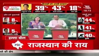 Rajasthan, MP और Chattisgarh में किसकी बनेगी सरकार ? Anjana Om Kashyap का Political Stock Exchange