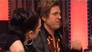 Kyssen mellan Laila Bagge & Niclas Wahlgren