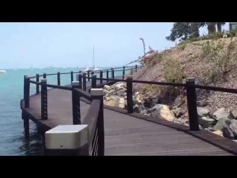 Airlie Beach Australia Bicentennial Boardwalk