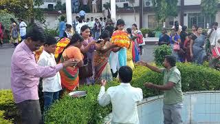 bathukamma celebrations at mgit