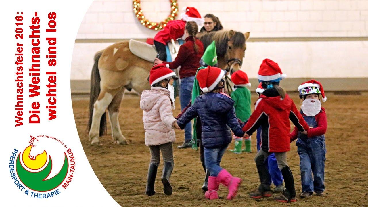 Weihnachtsfeier Taunus.Die Weihnachtswichtel Sind Los Bambini Club 2016