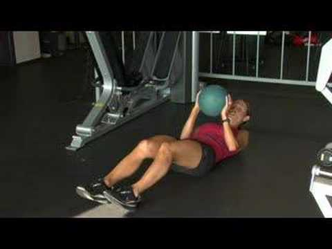 How to Do Medicine Ball Crunches
