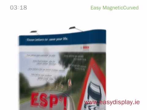 Advertising Display Combo in Dublin - Easydisplay