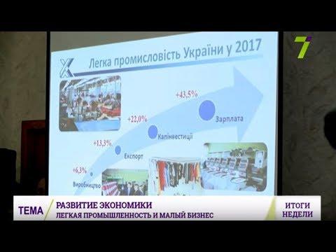 Планы развития малого бизнеса и легкой промышленности в Украине