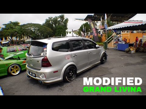 Nissan Grand Livina Custom Modified |  Gathering Geng Sunroof GAGES 2016