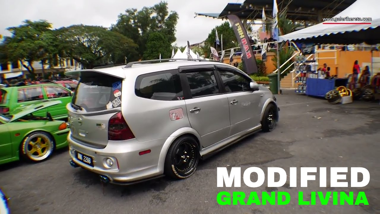 Nissan grand livina custom modified gathering geng sunroof gages 2016 youtube