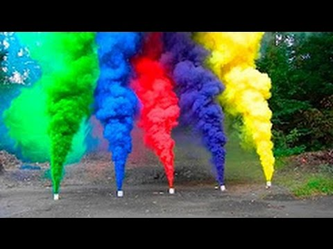 Colored Smoke bomb | how to make Colored Smoke mix with kno3 and sugar  Hindi India