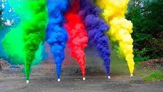 Colored Smoke bomb | how to make Colored Smoke mix with kno3 and sugar Hindi India