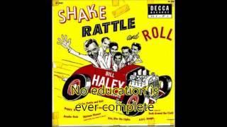 Bill Haley And His Comets - A.B.C. Boogie (Vinyl) (with lyrics)