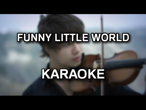 Alexander Rybak - Funny little world [karaoke/instrumental]