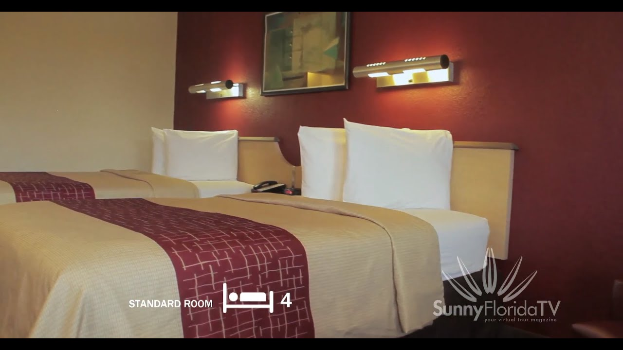 Red Roof Inn..Orlando..Hotel Review..Virtual Tour