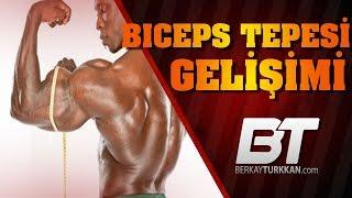 Biceps TEPESİ ve Uzun Başı İçin | Daha Büyük Kollar | Incline Dumbbell Curl