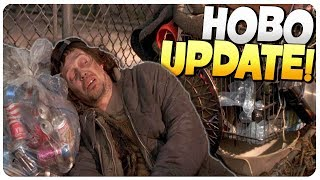 Public Squatting is Love, NEW UPDATE! | Hobo Tough Life Survival Gameplay