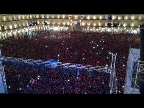 Campanadas Nochevieja Universitaria 2018 Salamanca