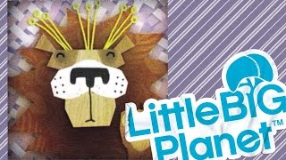 Прохождение LittleBigPlanet 1 - КООПЕРАТИВ с НАСТЕЙ - The Savannah (Саванна) #2