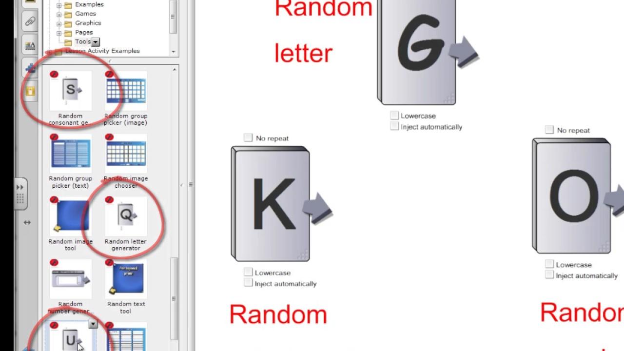 Random Letter Generators - YouTube