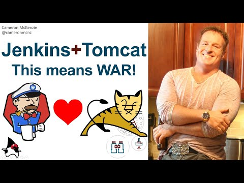 How to deploy a WAR file to Apache Tomcat using Jenkins CI example tutorial