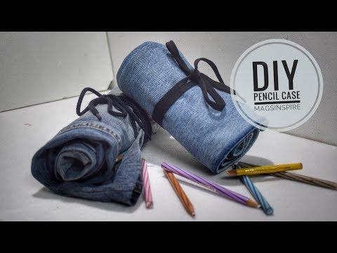 No Sew DIY L Pencil Roll-up Case L Mags Inspire