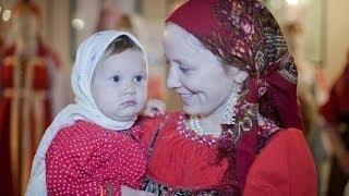 Disfraz de rusa niña