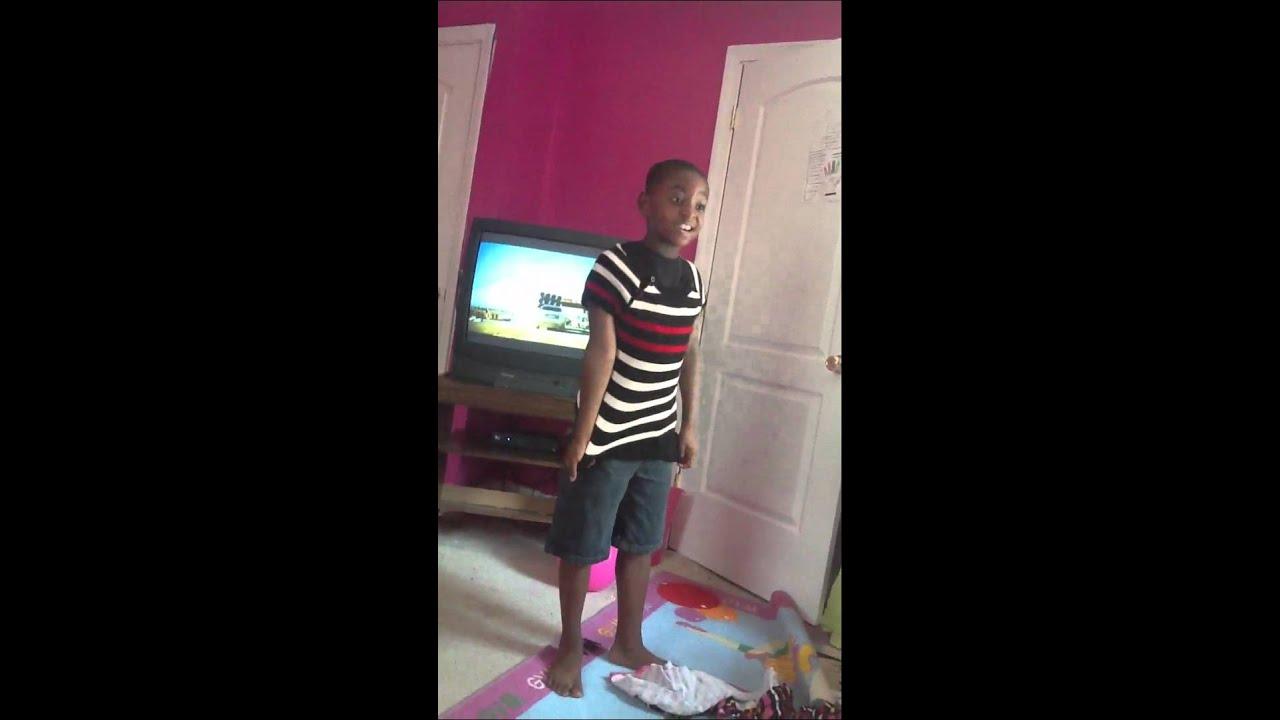 Boy Wearing Girls Leotard