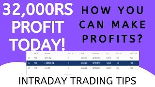 Nse Intraday Trading - 32000Rs Profit Today