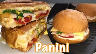 Горячие бутерброды Панини на гриле GF-025.