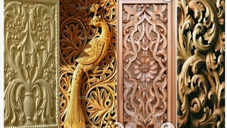 Latest best wood main door collection for modern home