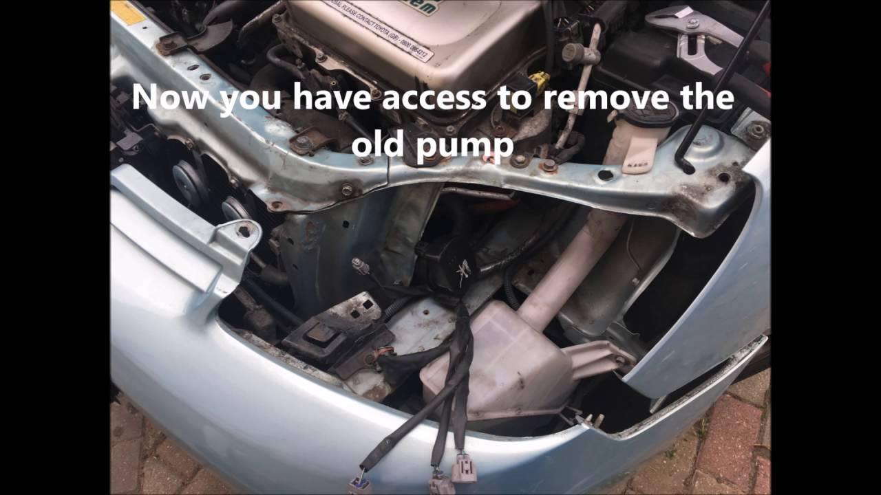 Toyota Prius 1st Gen inverter pump problem