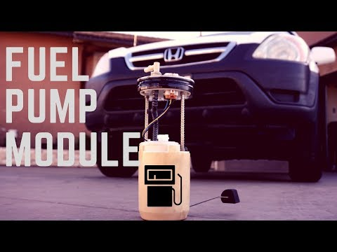 Honda CRV Fuel filter replacement - YouTube