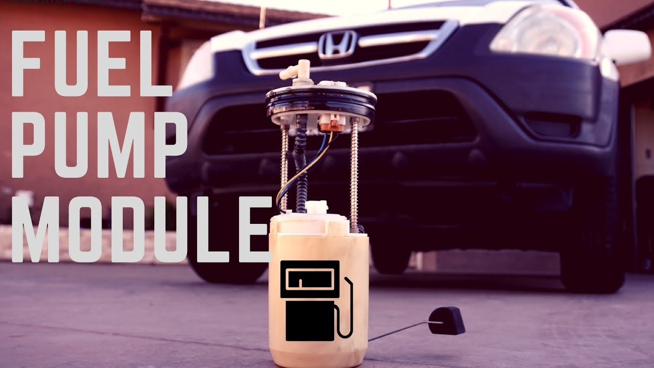 how to change the fuel pump on any honda [ 1280 x 720 Pixel ]