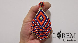 Day 10 : DIY Beaded Earrings With CurryRinabus By LorembyC