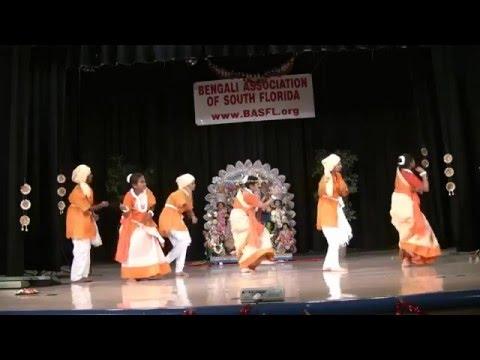 Durga Puja 2009 in Miami, Florida - Cultural Program - Sonar Gour recorded by Bhoomi.