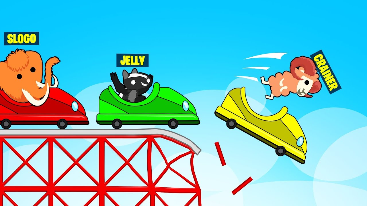 Download We Got TROLLED By A ROLLERCOASTER! (Ultimate Chicken Horse)