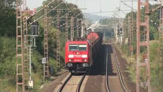 [HD] Trains in germany 1 - 2 ( Bonn Elze Wetter )