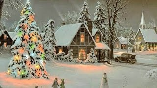 2 Hours Of Popular Traditional Old CHRISTMAS CAROLS & MUSIC With Best CHRISTMAS Light Displays