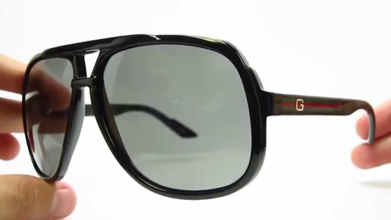 14c9796fb7d Gucci GG 1622 S D28R6 Black Sunglasses