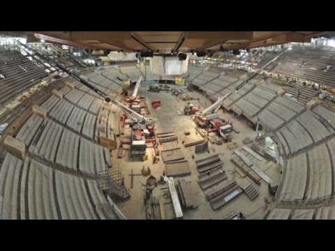 Watch The Msg Renovation In 60 Seconds Youtube
