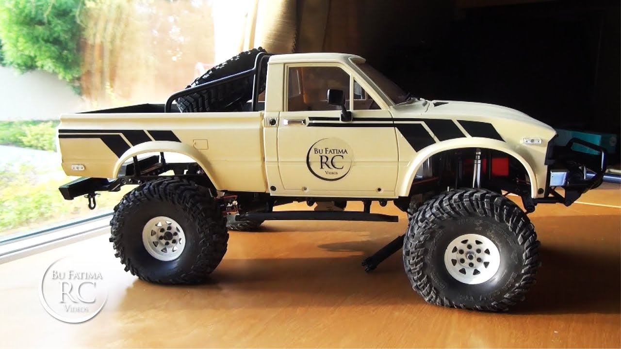 Rc4wd Mojave Bodyset Assembling And Decals Part 2