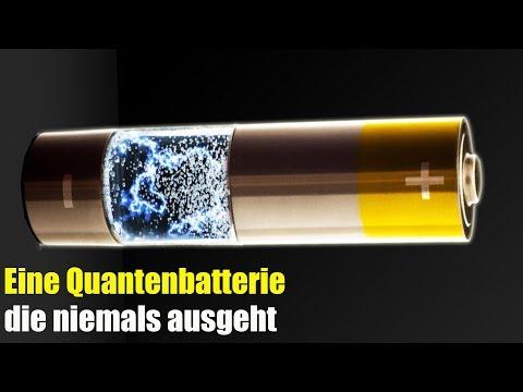 Eine Quantenbatterie, die Niemals Ausgeht