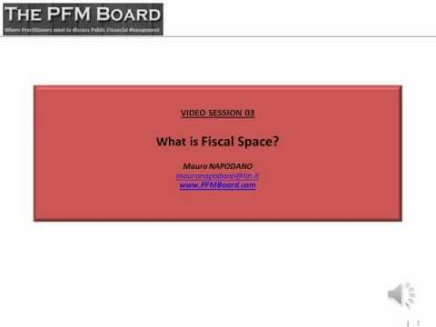 03. What is fiscal space?