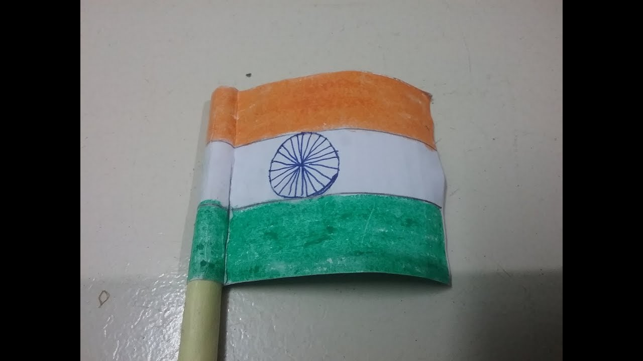 Craft For Flag Of India: How To Make Indian National Flag With Paper, DIY Origami