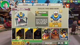 0 to 60 Fast Evolve Football Bird - Angry Birds Evolution