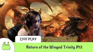 Return of the Winged Trinity Pt2. D&D 5th Edition Live Play